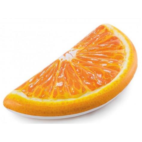 Intex 58763 Lehátko nafukovací pomeranč 178x85cm