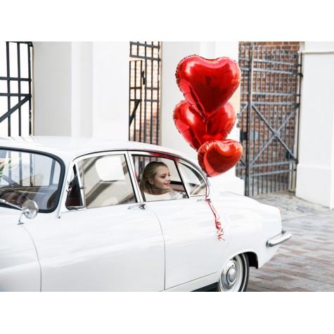 Fóliový balónek srdce 45 cm