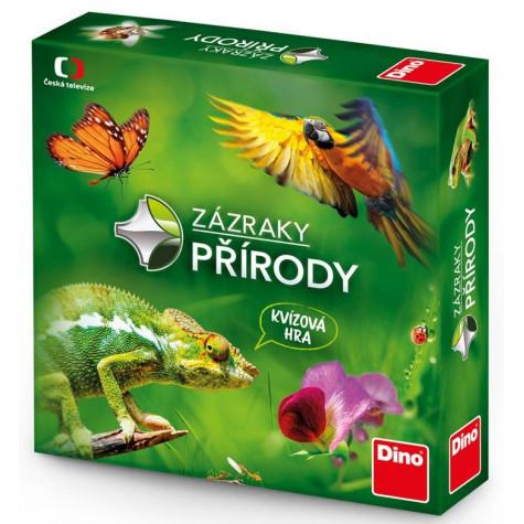 Dino Zázraky přírody rodinná vědomostní hra
