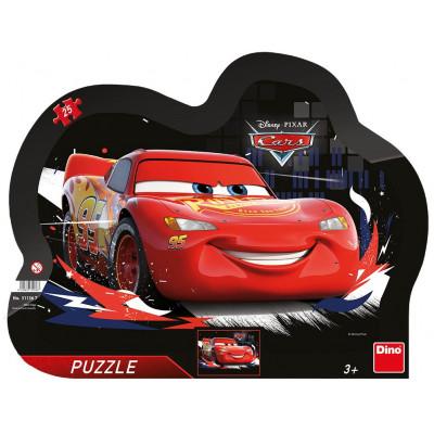 Dino Cars: Souboj deskové puzzle 25 dílků
