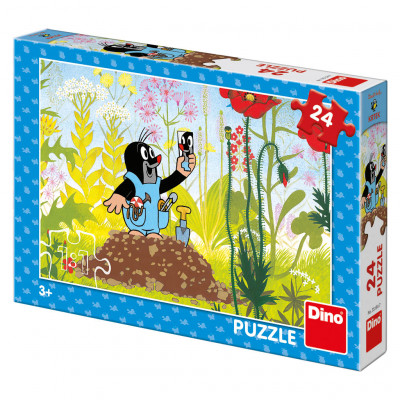 Dino Krtek v kalhotkách puzzle 24 dílků