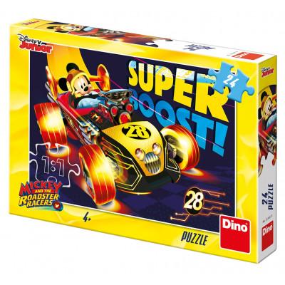 Dino Mickeyho klubík závodník puzzle 24 dílků