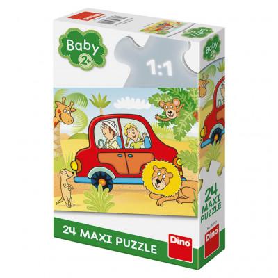 Dino Safari maxi puzzle 24 dílků