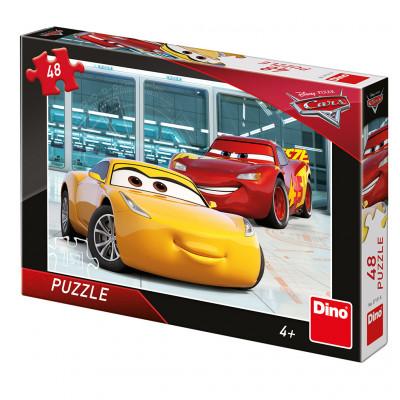 Dino Cars 3: Příprava puzzle 48 dílků