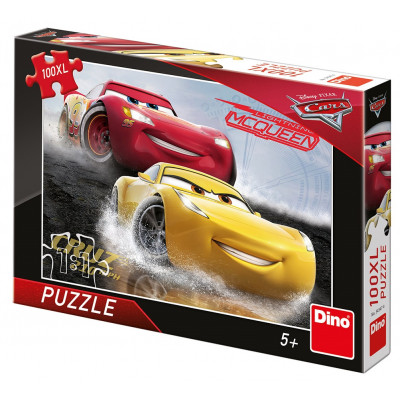 Dino Cars 3: Aquaplaning puzzle 100XL dílků
