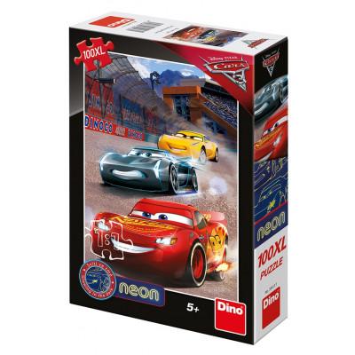 Dino Cars 3: Vítězné kolo puzzle 100XL dílků