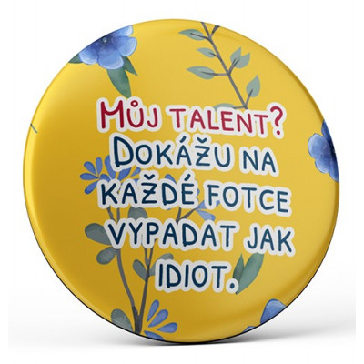 Nekupto Magnetka 45mm - Můj talent?...