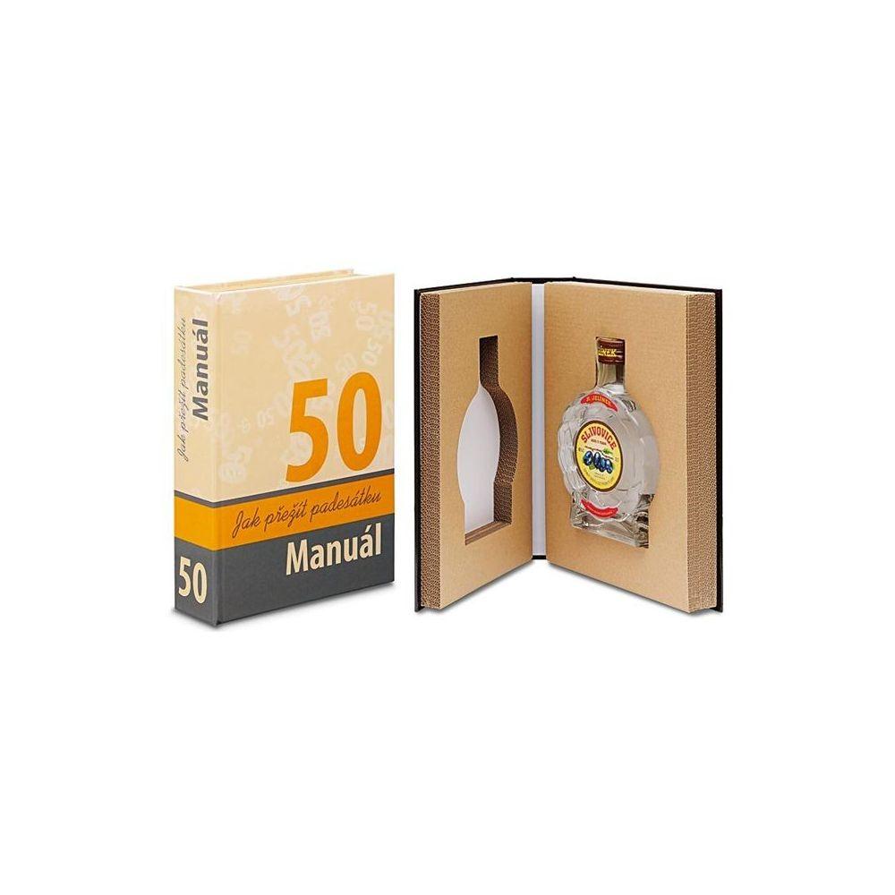 Kniha - 50, Manuál jak přežít padesátku