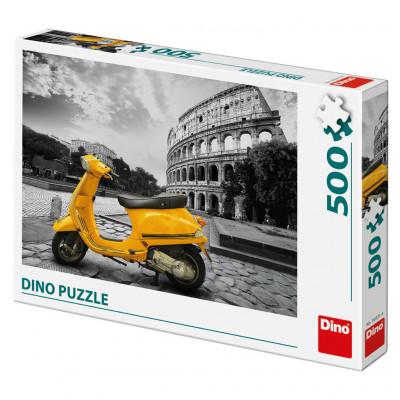 Dino Skútr u Kolosea puzzle 500 dílků