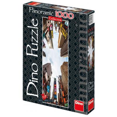 Dino Broadway Avenue panoramic puzzle 1000 dílků
