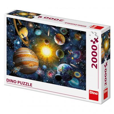 Dino Sluneční soustava puzzle 2000 dílků