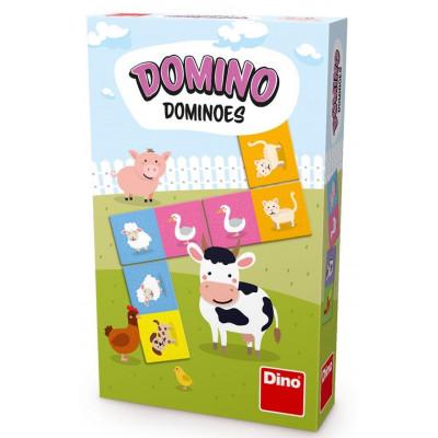 Dino Zvířátka domino