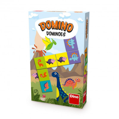 Dino Dinousauři domino
