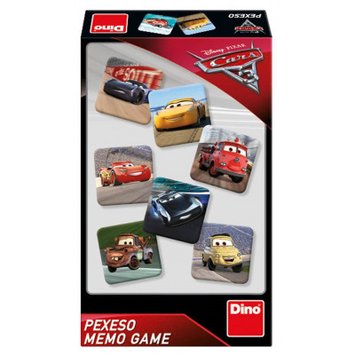 Dino Cars 3 pexeso