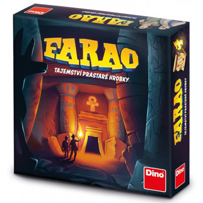 Dino Farao: Tajemství prastaré hrobky rodinná hra