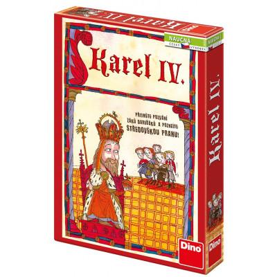 Dino Karel IV. naučná hra