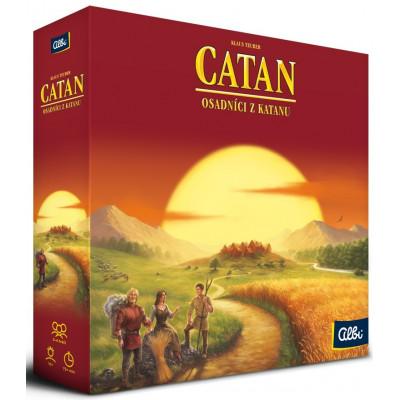 Albi Catan - Osadníci z Katanu - základní hra