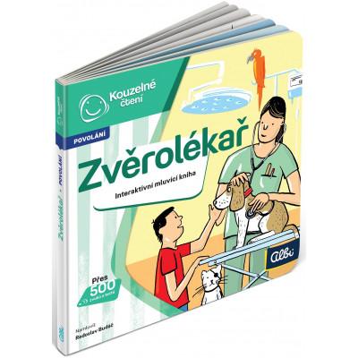 Albi Kouzelné čtení - Minikniha povolání - Zvěrolékař