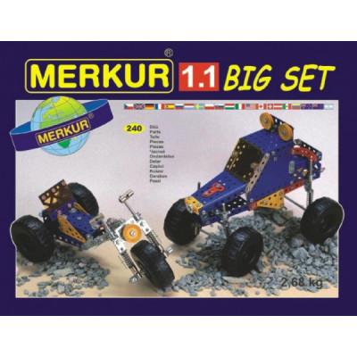 Stavebnice MERKUR 1.1 Extreme Buggy 10 modelů 240ks v krabici 36x26,5x5,5cm
