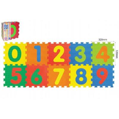 Wiky Pěnové puzzle Číslice 30x30cm