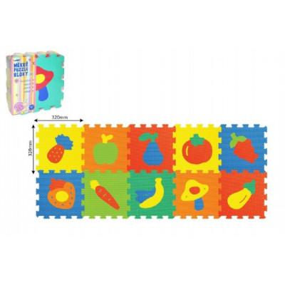 Wiky Pěnové puzzle Ovoce Zelenina 30x30cm 10ks