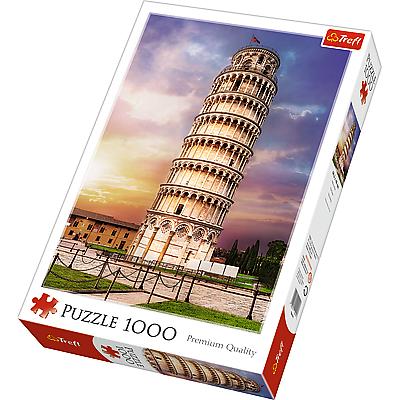 Trefl Puzzle Šikmá věž v Pise 1000 dílků