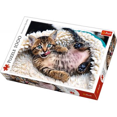 Trefl Puzzle Veselé kotě 1000 dílků