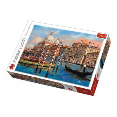 Trefl Puzzle Benátky - Kanál Grande 1000 dílků