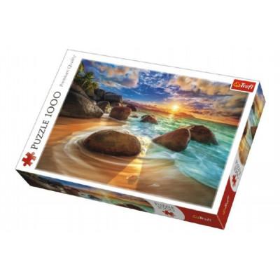 Trefl Puzzle Pláž Samudra, Indie 1000 dílků