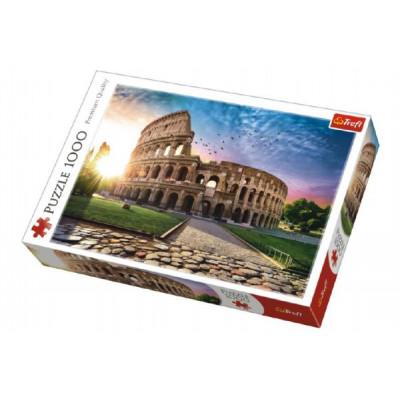 Trefl Puzzle Prosluněné Koloseum Řím 1000 dílků