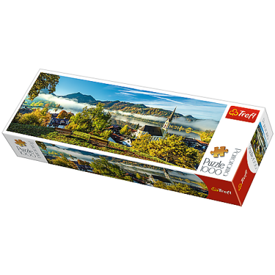 Trefl Puzzle jezero Schliersee panoramic 1000 dílků