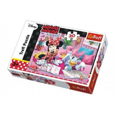 Trefl Puzzle Minnie a Daisy Disney 30 dílků
