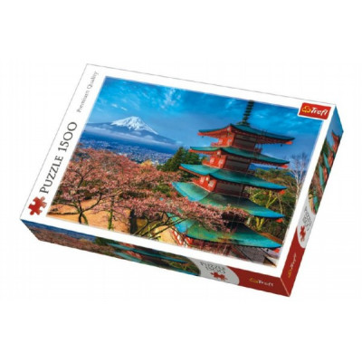 Trefl Puzzle Hora Fuji 1500 dílků