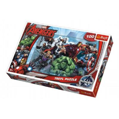 Trefl Puzzle The Avengers 100 dílků