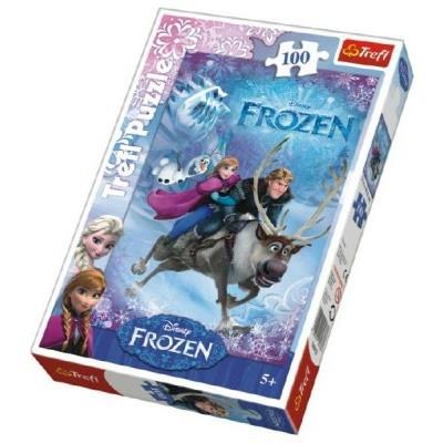 Trefl Puzzle Frozen/Ledové království 100 dílků
