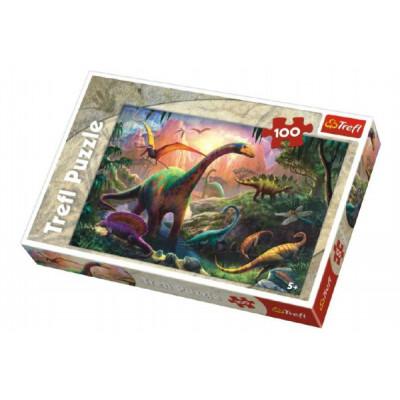Trefl Puzzle Dinosauři 100 dílků