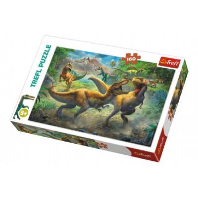 Trefl Puzzle Dinosauři/Tyranosaurus 160 dílků