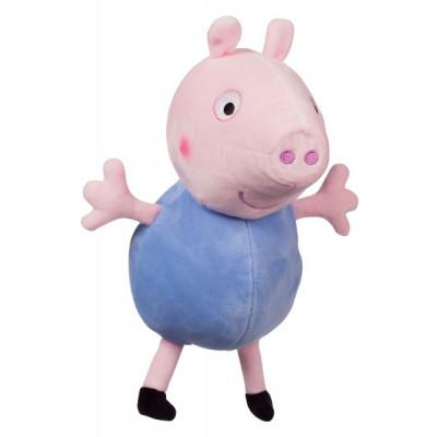 Prasátko Peppa plyš postavička Tom 35,5 cm modrý 0m+