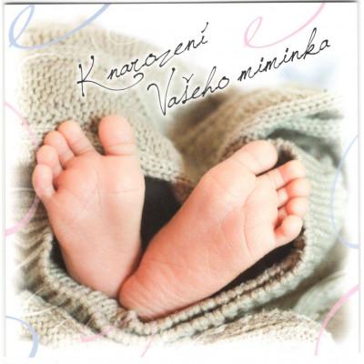 Přání - K narození Vašeho miminka