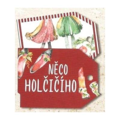 Vánoční kartičky na dárky - Holčičí