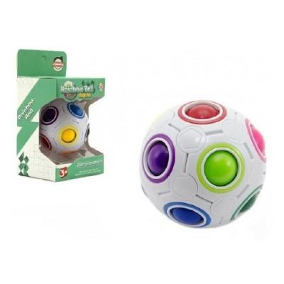 Hlavolam míček plast 7cm v krabičce