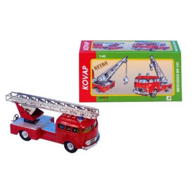Kovap Auto Mercedes 335 hasiči kov 17cm 1:43