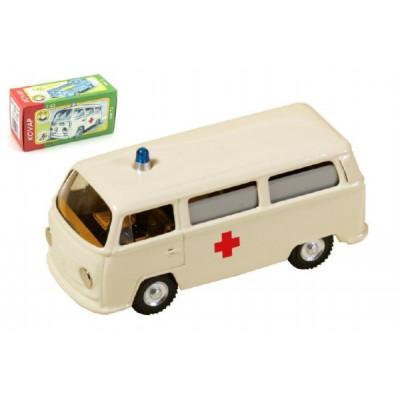 Kovap Auto VW Ambulance kov 12cm 1:43