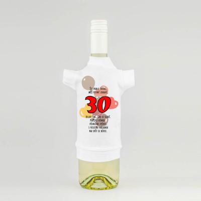 Tričko na láhev - Žij podle svého - 30