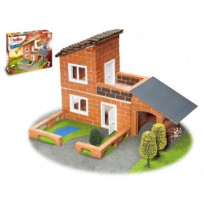 Stavebnice Teifoc Vila 330ks v krabici 44x33x11cm