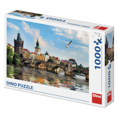 Dino Karlův most puzzle 1000 dílků
