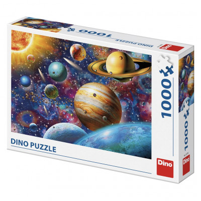 Dino Planety puzzle 1000 dílků