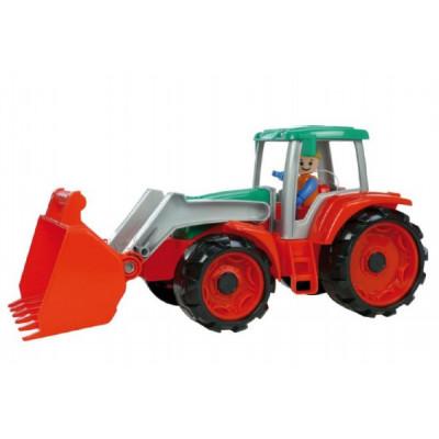 Lena Auto Truxx traktor nakladač s figurkou plast 35cm 24m+