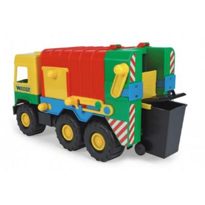Wader Auto middle Truck popelář plast 41cm
