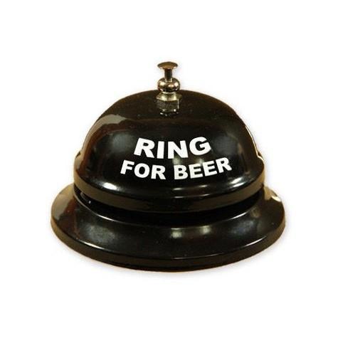 Stolní zvoneček na pivo - černý